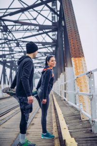 Cold weather workout gear
