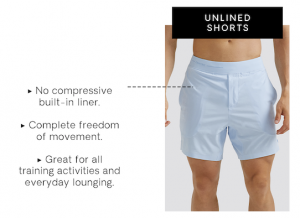Unlined Shorts